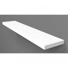Ράφι Τοίχου Λευκό Liberta 120x20x1,8υψ 32-0074