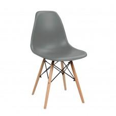 Καρέκλα Φυσικό - Γκρι Σκούρο ΡΡ Eiffel Liberta 42x51,5x81υψ 03-0750