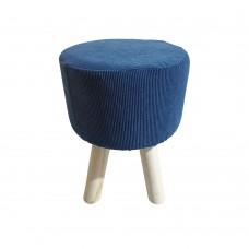 Σκαμπώ Μπλε Κοτλέ Fred Liberta Φ29x40υψ 16-0411