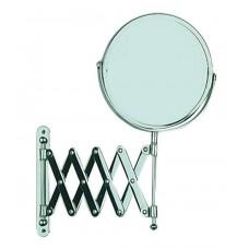 Καθρέφτης Τοίχου Τηλεσκοπικός 300% Μεγέθυνση Χρώμιο Exclusive Wenko Φ17εκ