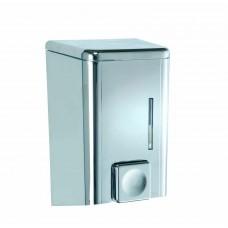 Σαπουνοθήκη - Dispenser Τοίχου 500ml Abs Χρώμιο Cremona Wenko 9x10x16υψ