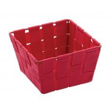 Καλαθάκι Τετράγωνο Μίνι Κόκκινο Adria Wenko 14x14x9υψ