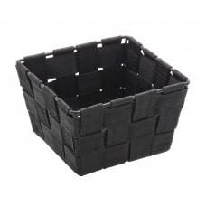 Καλαθάκι Τετράγωνο Μίνι Μαύρο Adria Wenko 14x14x9υψ
