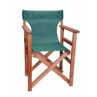 Πολυθρόνα - Καρέκλα Σκηνοθέτη Φουρνιστή Οξιά Πτυσσόμενη Κερασί Χρώμα Κυπαρισσί Διάτρητο Pvc 57x52x86υψ Κατ' Εξοχήν 77012