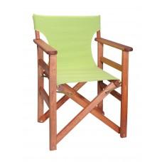 Πολυθρόνα - Καρέκλα Σκηνοθέτη Φουρνιστή Οξιά Πτυσσόμενη Κερασί Χρώμα Λαχανί Καραβόπανο 57x52x86υψ Κατ' Εξοχήν 77011