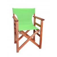 Πολυθρόνα - Καρέκλα Σκηνοθέτη Φουρνιστή Οξιά Πτυσσόμενη Κερασί Χρώμα Λαχανί Διάτρητο Pvc 57x52x86υψ Κατ' Εξοχήν 77012