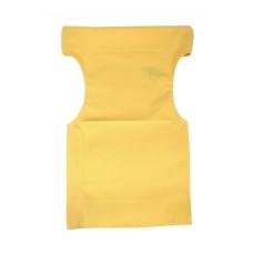 Πανί Καρέκλας Σκηνοθέτη Ανταλλακτικό Καραβόπανο 520gr/m2 - 54x45x80υψ - Κατ' Εξοχήν - Κίτρινο