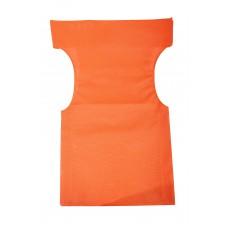 Πανί Καρέκλας Σκηνοθέτη Ανταλλακτικό Διάτρητο Pvc 600gr/m2 - 54x45x80υψ - Κατ' Εξοχήν - Πορτοκαλί
