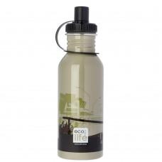 Μπουκάλι Ανοξείδωτο Με Πώμα 600ml Skate Ecolife Φ7,5x25υψ 33-BO-1007