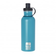 Μπουκάλι Ανοξείδωτο Με Πώμα 600ml Aqua Ecolife Φ7,5x25υψ 33-BO-1012