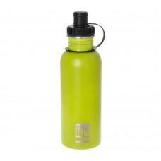 Μπουκάλι Ανοξείδωτο Με Πώμα 600ml Lime Ecolife Φ7,5x25υψ 33-BO-1014