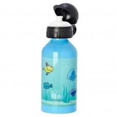 Μπουκάλι Παιδικό Ανοξείδωτο 500ml Fish Ecolife Φ7x20υψ 33-BO-2005