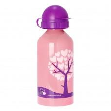 Μπουκάλι Παιδικό Ανοξείδωτο 500ml Love Tree Ecolife Φ7x20υψ 33-BO-2006