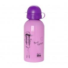 Μπουκάλι Παιδικό Ανοξείδωτο 500ml Fashion Ecolife Φ7x20υψ 33-BO-2009