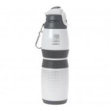 Μπουκάλι Ανοξείδωτο 400ml Vacuum White Rubber Ecolife 33-BO-3014