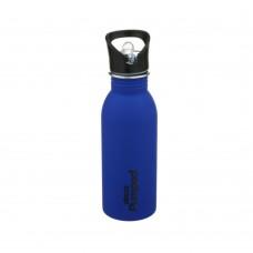 Μπουκάλι Ανοξείδωτο Με Καλαμάκι 500ml Μπλε Decor Ecolife 33-DE-003