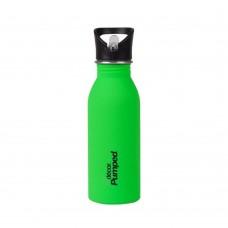 Μπουκάλι Ανοξείδωτο Με Καλαμάκι 500ml Πράσινο Decor Ecolife 33-DE-004