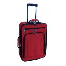 Βαλίτσα Ταξιδίου Τρόλλευ TNS 950-0280M 60εκ (LUG-202428-RD-M) 40x20x60υψ - Κόκκινη