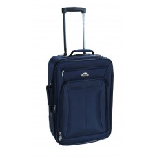 Βαλίτσα Ταξιδίου Τρόλλευ TNS 950-0282S 50εκ 'Αεροπλάνου' (LUG-202428-NV.BLU-S) 36x18x50υψ - Σκούρο Μπλε
