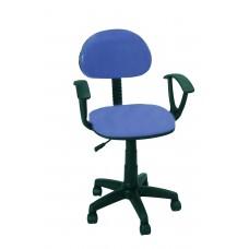 Καρέκλα Γραφείου Με Μπράτσα CH28-21-H/LBLU 56Χ40Χ90 - Θαλασσί