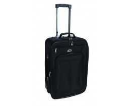 Βαλίτσα Ταξιδίου Τρόλλευ TNS 950-0279S 50εκ 'Αεροπλάνου' (LUG-202428-BLK-S) 36x18x50υψ - Μαύρη