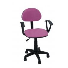 Καρέκλα Γραφείου Με Μπράτσα CH28-21-H/PNK 56Χ40Χ90 - Ροζ