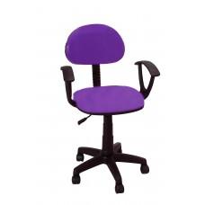 Καρέκλα Γραφείου Με Μπράτσα CH-28-21-H-PUP 56Χ40Χ90 - Μωβ