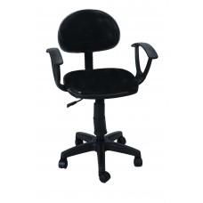 Καρέκλα Γραφείου Με Μπράτσα CH28-21-H/BLK 56Χ40Χ90 - Μαύρη