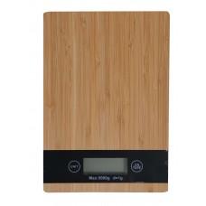 Ζυγαριά Κουζίνας Ηλεκτρονική Μπαμπού Σχέδιο 23χ16εκ SS-1024 04-950-1051