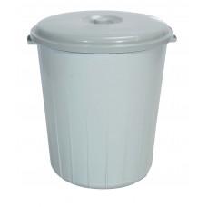 Κάδος Απορριμμάτων Πλαστικός 50lt Γκρι TP2210-GRY-50L 32-800-0725