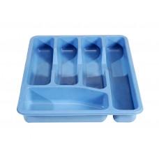 Κουταλοθηκη Συρταριού Πλαστική Μπλε 9/CUTL-4ASST 32-800-0699