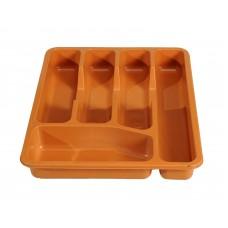 Κουταλοθήκη Συρταριού Πλαστική Ανοιχτό Καφέ 9/CUTL-4ASST 32-800-0699