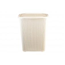 Καλάθι Απλύτων Rattan Λευκό 60lt 214/RATTAN-WHT 32-800-0668
