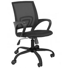 Καρέκλα Γραφείου Δίχτυ Πλαστική Βάση Μαύρη ΑΒ-9050P-BLK