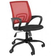 Καρέκλα Γραφείου Δίχτυ Πλαστική Βάση Κόκκινη ΑΒ-9050P-RED