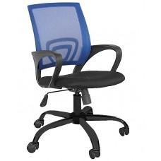 Καρέκλα Γραφείου Δίχτυ Πλαστική Βάση Μπλε ΑΒ-9050P-BLU