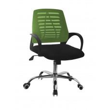 Καρέκλα Γραφείου Δίχτυ Μεταλλική Βάση Πράσινη ΑΒ-948GRN