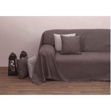 Μαξιλάρι Καναπέ Με Γέμιση Μονόχρωμο Σενίλ 42x42εκ 2100 Βέγκε Viopros