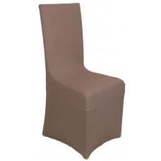 Κάλυμμα Καρέκλας Με Βολάν Ελαστικό Σοκολά Elegant Viopros