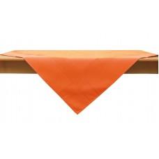 Τραπεζομάντηλο Καρέ Μονόχρωμο Πολυέστερ 85x85εκ 3970 Πορτοκαλί Viopros