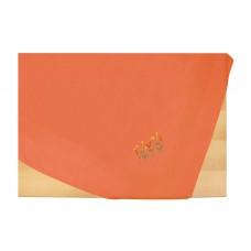 Τραπεζομάντηλο Καρέ Μονόχρωμο Με Κέντημα Πολυέστερ 85x85εκ 3971 Πορτοκαλί Viopros