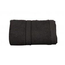 Πετσέτα Μπάνιου Μονόχρωμη 480gr/m2 70x140εκ Μαύρο Classic Viopros