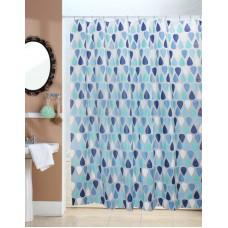 Κουρτίνα Μπάνιου Πλαστική Peva Αδιάβροχη 180x200υψ Ρέιν Viopros
