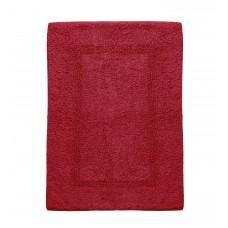 Πατάκι Μπάνιου 100% Βαμβάκι 40x60εκ Κόκκινο Μάρα Viopros