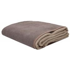 Κουβέρτα Δίχρωμη Υπέρδιπλη Ακρυλική 210x240εκ Καφέ-Μπεζ Viopros