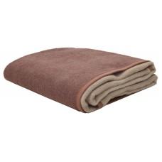 Κουβέρτα Δίχρωμη Υπέρδιπλη Ακρυλική 210x240εκ Καστανό-Μπεζ Viopros