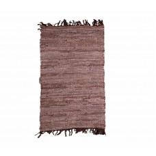 Πατάκι - Κουρελού Δερμάτινο Βραδύκαυστο 120x150εκ Χρώμα 1 Viopros