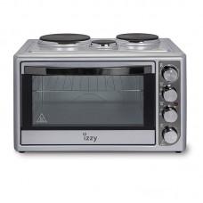 Φούρνος με 3 Εστίες 48lt Mega+ 3550W K-48D Izzy 223352