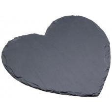 Δίσκος Σερβιρίσματος Φυσική Πέτρα Καρδιά Artesa Master Class 25εκ Kitchen Craft 35.01666