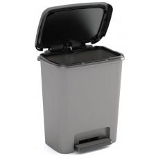 Κάδος Απορριμάτων Πλαστικός Γκρι Compatta Kis 38x28x43υψ 26.21051